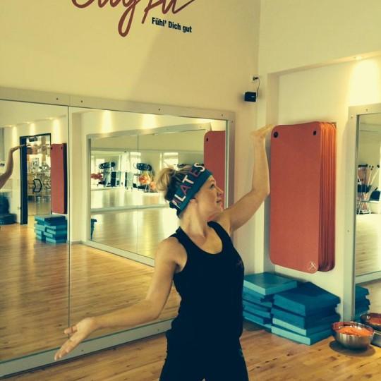 Katja Deal unsere Pilates Queen